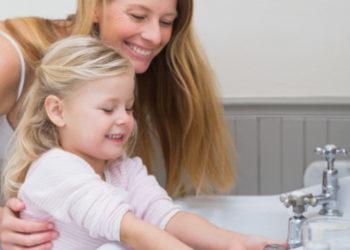 Lavado de manos en niños