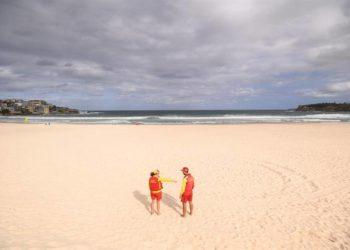 Bondi, la playa más famosa de Australia sucumbe ante la pandemia