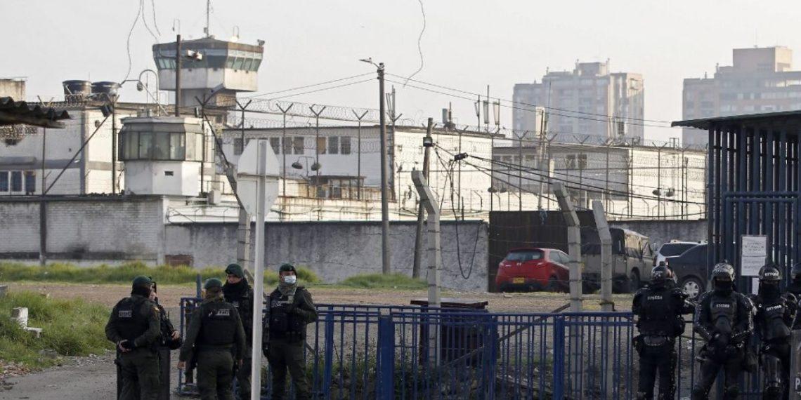 Colombia contempla casa por cárcel para cerca de 15.000 presos para prevenir el coronavirus. Foto: AFP