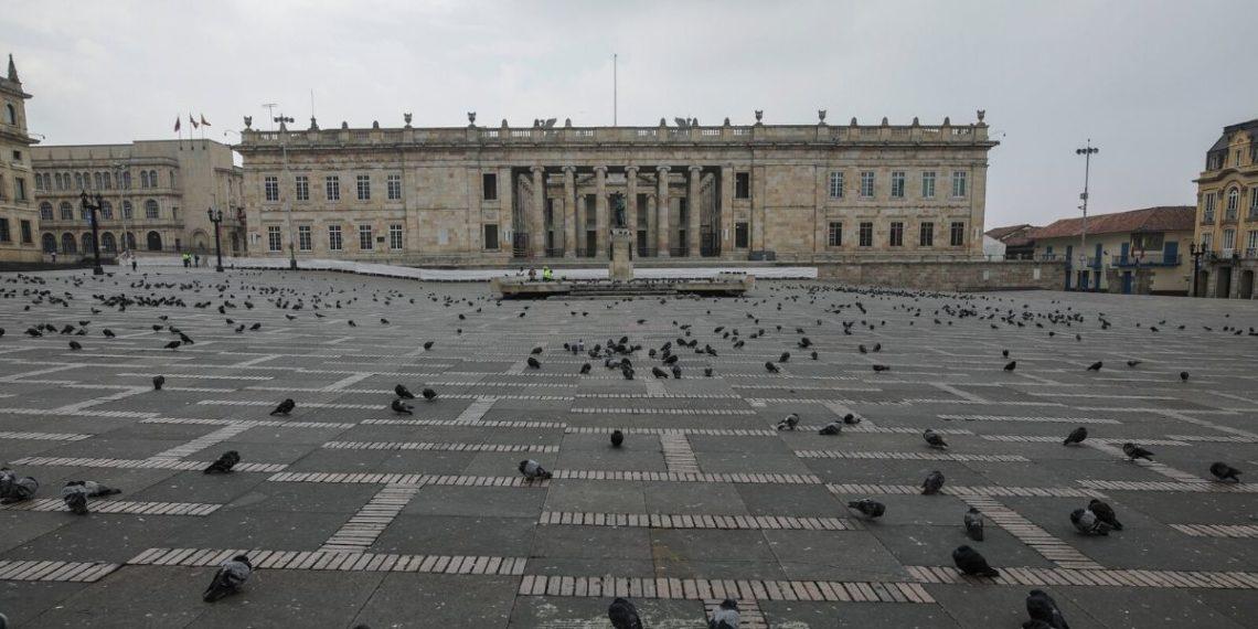 Colombia en cuarentena: el país entra en aislamiento de 19 días por el coronavirus. Foto: AFP