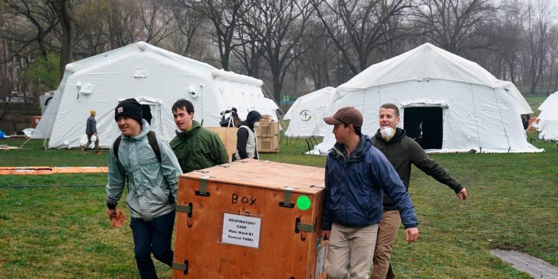El Central Park de Nueva York albergará hospital de campaña para el coronavirus. Foto: EFE