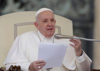 El Papa Francisco se encuentra resguardado por el coronavirus. Foto: AP