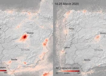 Aislamiento por coronavirus en Europa