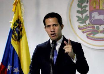 El presidente interino de Venezuela, Juan Guaidó. Foto: Centro de Comunicación Nacional AN