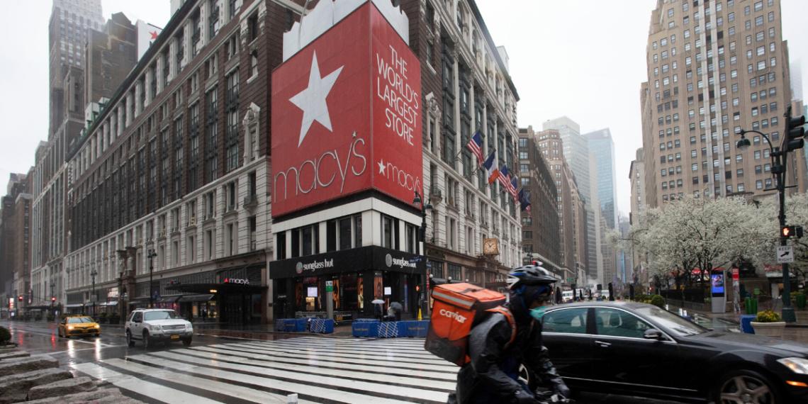 Macy's despedirá a gran parte de sus 130.000 empleados por la crisis del coronavirus en EE.UU. Foto: AP