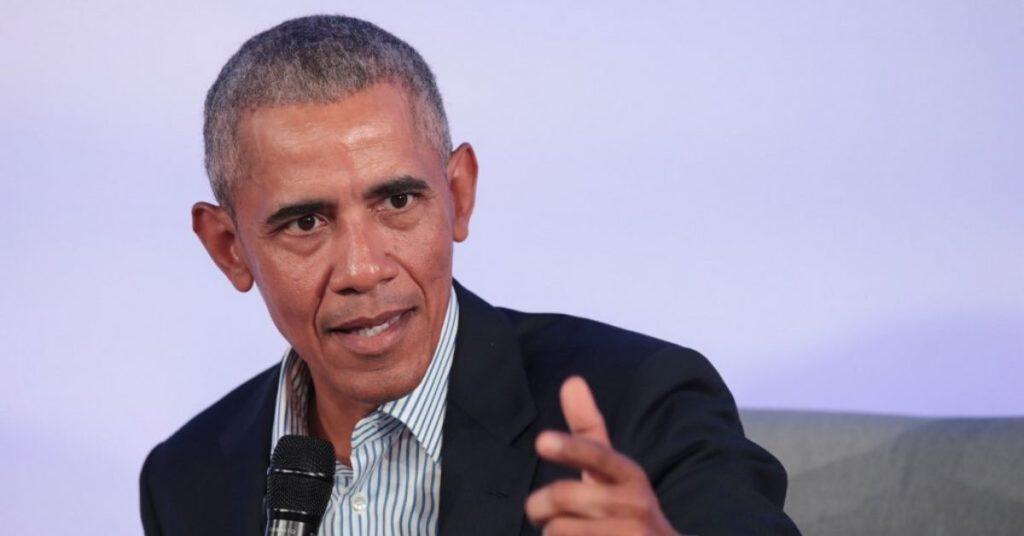 El expresidente de Estados Unidos. Barack Obama.