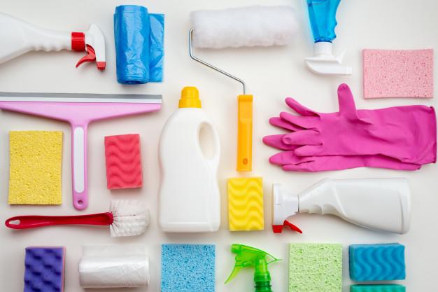 limpieza para la cuarentena