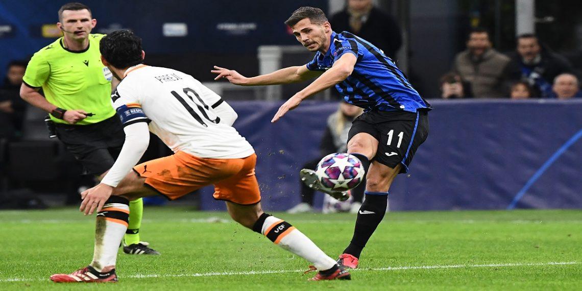 El Atalatna de Bérgamo - Valencia se disputó en la ciudad de Milán - FOTO: AFP
