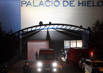 Madrid improvisa una morgue