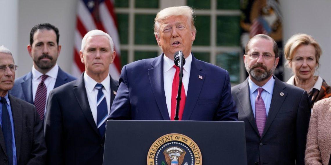 El presidente de EE.UU. Donald Trump. Foto: AP