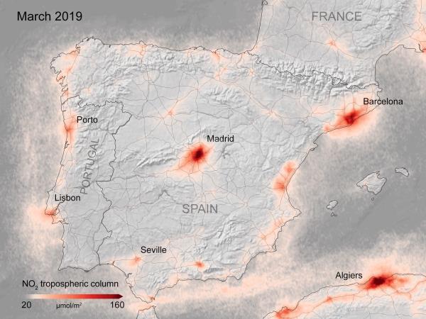 contaminación en Europa