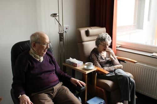 cuidado de los ancianos
