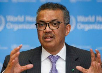 Tedros Adhanom Ghebreyesus, director general de la Organización Mundial de la Salud (OMS). Foto: AP