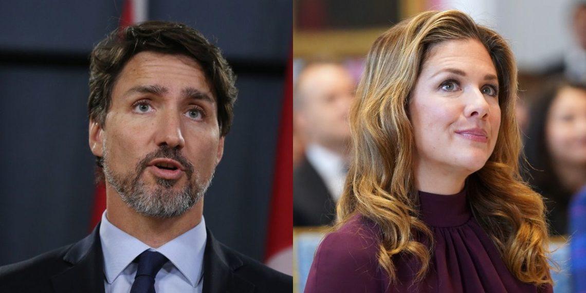 Esposa de Justin Trudeau se realiza pruebas de coronavirus