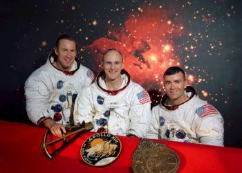 Se cumplen 50 años de la fallida misión a la luna del Apolo 13. Foto: EFE