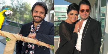 Victoria Ruffo y Eugenio Derbez