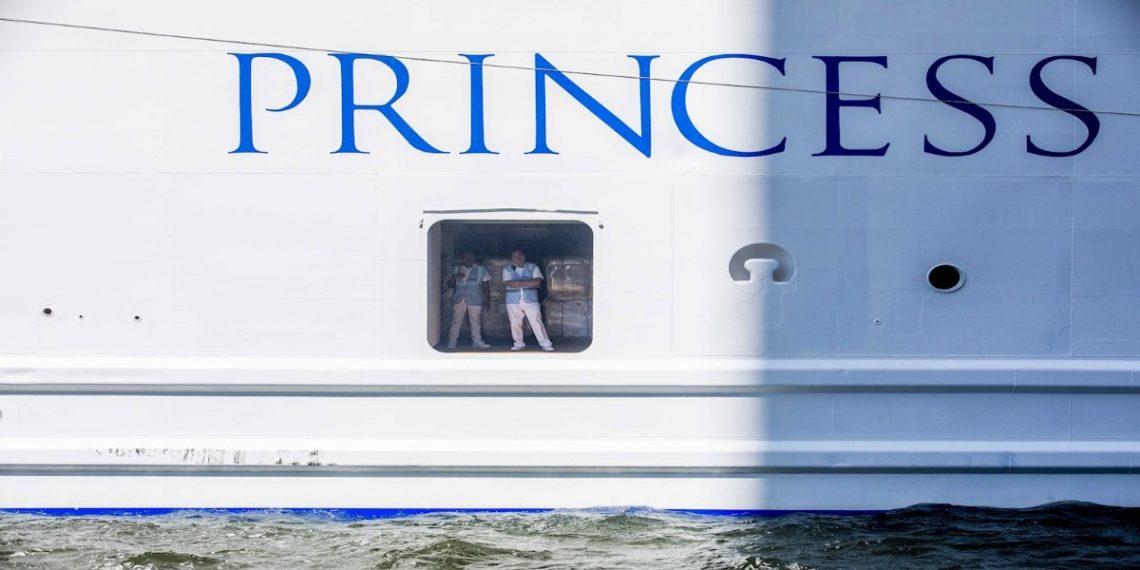 Dos personas murieron a bordo del crucero Coral Princess, de la naviera Princess, que había reportado una docena de contagios de COVID-19 y que se dirige al Puerto de Miami (Florida). EFE/EPA/NIELS WENSTEDT/Archivo