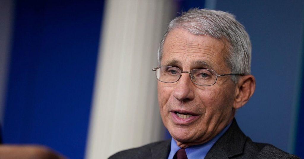 Anthony Fauci, asesor de la Casa Blanca para el manejo del coronavirus