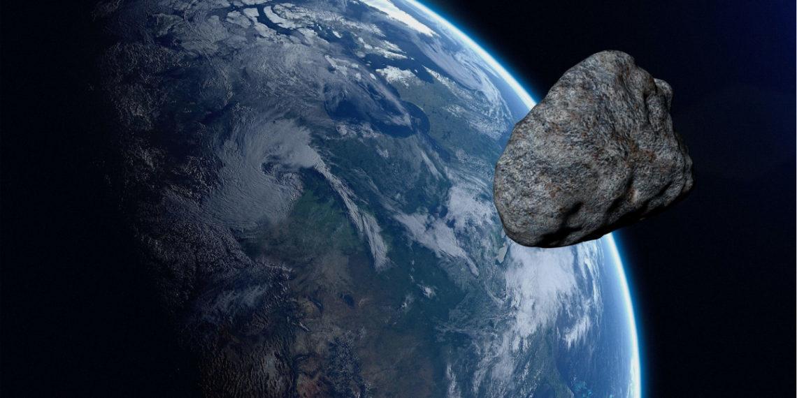 impacto de un asteroide con la Tierra