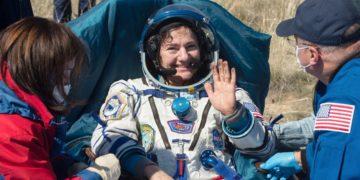 Astronautas de la Estación Espacial regresaron a la Tierra en plena pandemia del coronavirus. Foto: AP