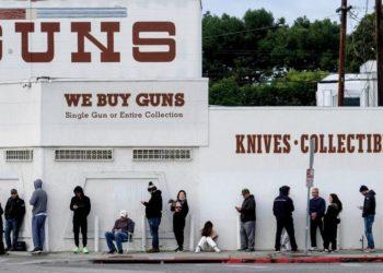 Venta de armas en Estados Unidos por el coronavirus