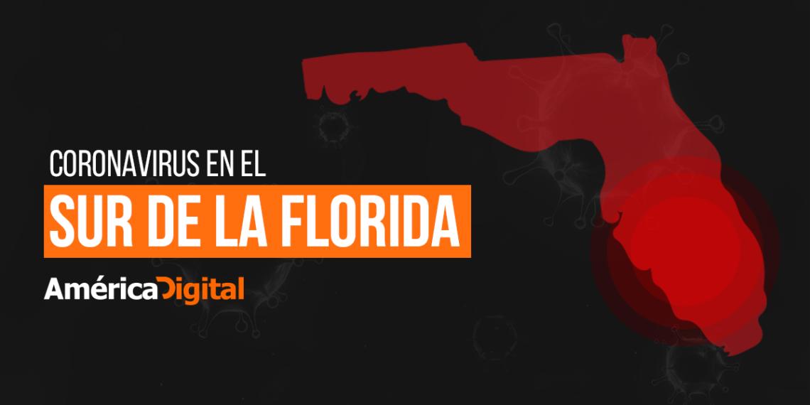 casos coronavirus sur de la Florida