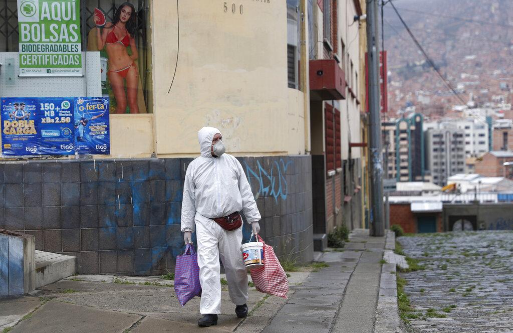 casos de coronavirus en Bolivia