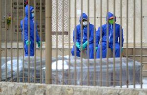 Muertos de coronavirus en Ecuador