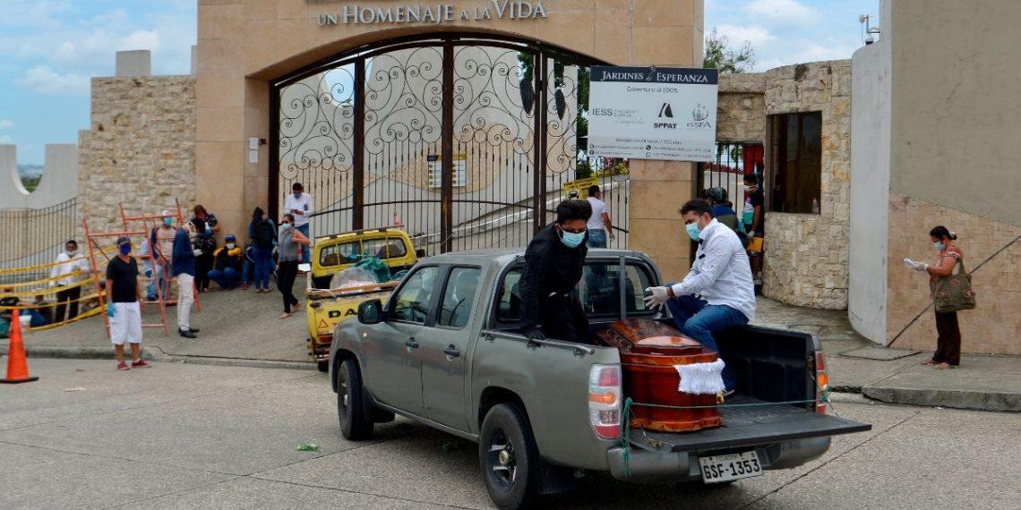 Muertos por coronavirus en Ecuador