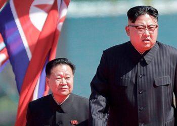 Kim Jong- Un se perdió la celebración del cumpleaños de su abuelo, el 15 de abril, lo que generó especulaciones sobre su salud. Foto: AFP