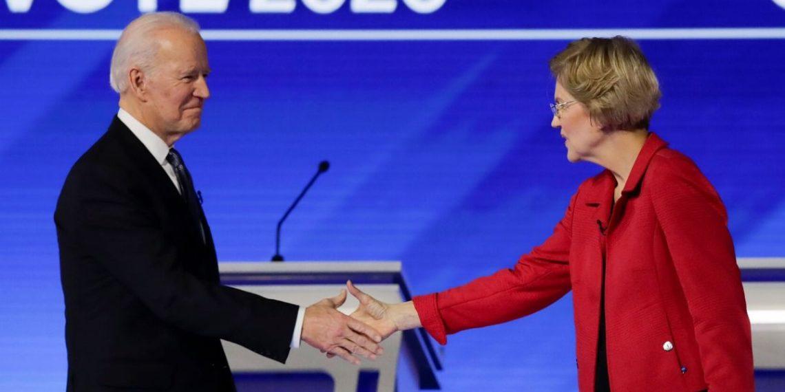 Warren apoyo a Biden a la presidencia de EE.UU.