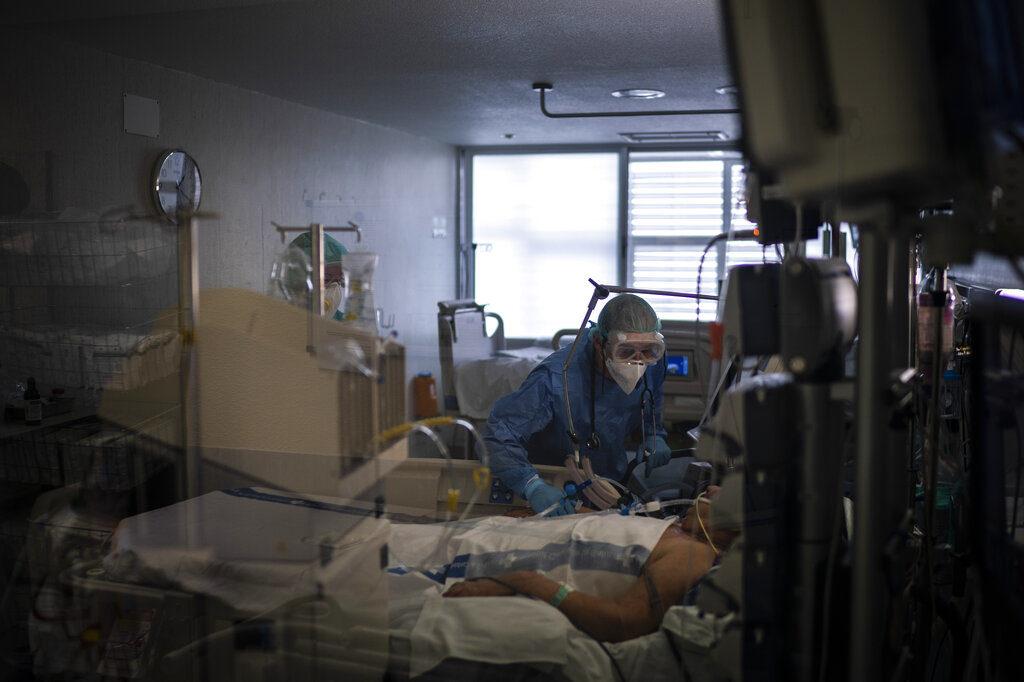 España afectado por el coronavirus