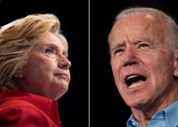 Clinton apoyó a Joe Biden
