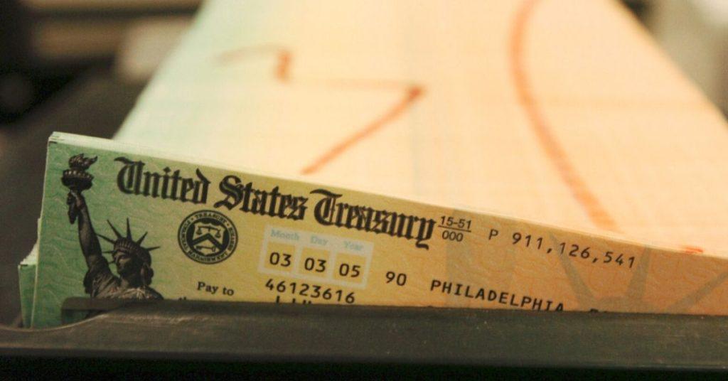 cheque de estímulo en Estados Unidos