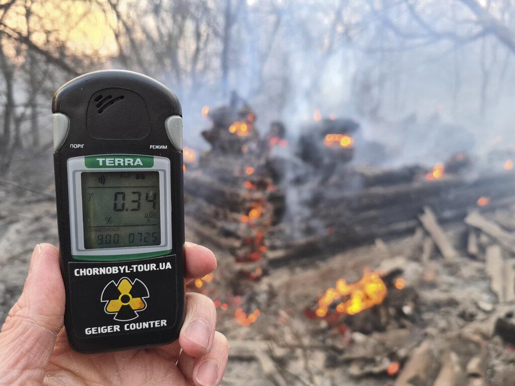 aumenta radiación cerca de la planta nuclear de Chernóbyl