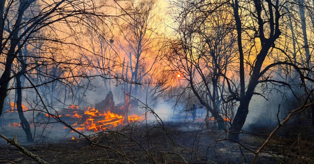 Incendios en Chernobil