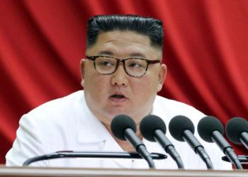 Kim Jong-Un envía mensaje