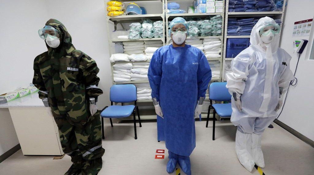 Medicos infectados en México por coronavirus
