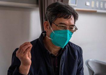 Zhang Wenhong, científico del comité de expertos del coronavirus en Shanghái (China).