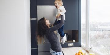 madres hogar ejercitar