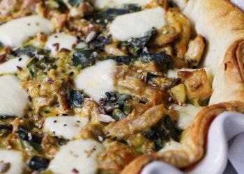Almuerzos saludables: tarta de pollo