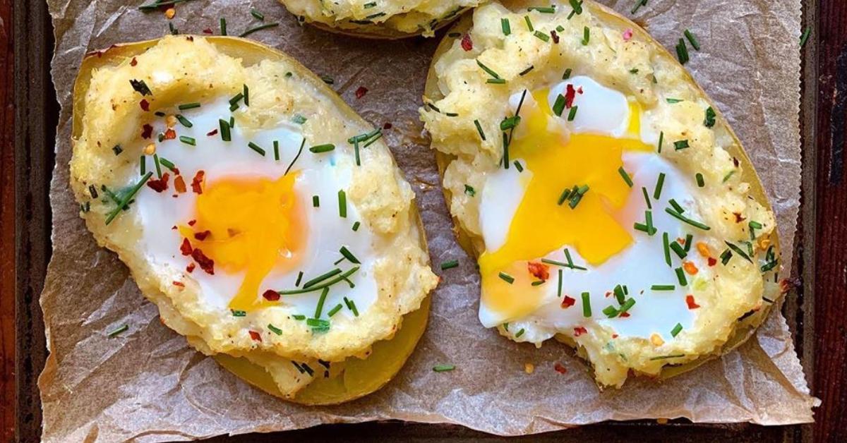 Desayunos saludables con huevo: una receta con cáscara de papa