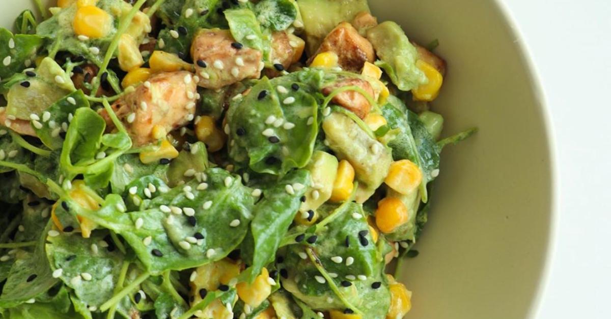 Comidas saludables y ensaladas fáciles de preparar