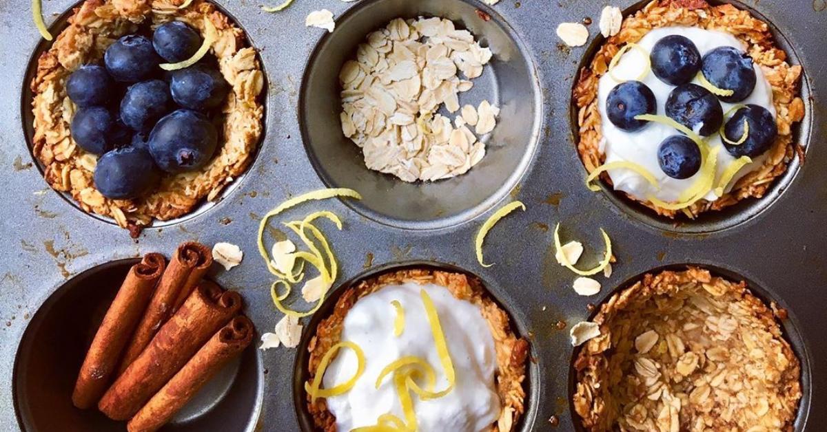 Recetas fáciles: cupcakes con frutas y yogur