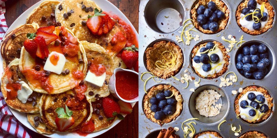 Recetas fáciles de muffins, panqueques y cupcakes