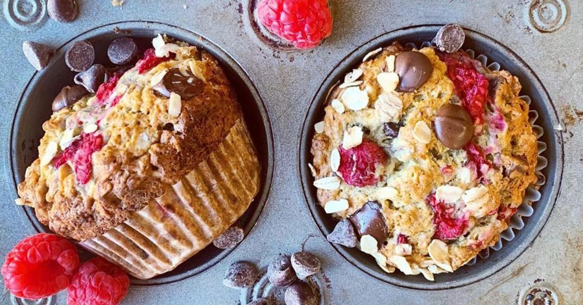 Recetas fáciles: Muffins de plátano con avena y chocolate