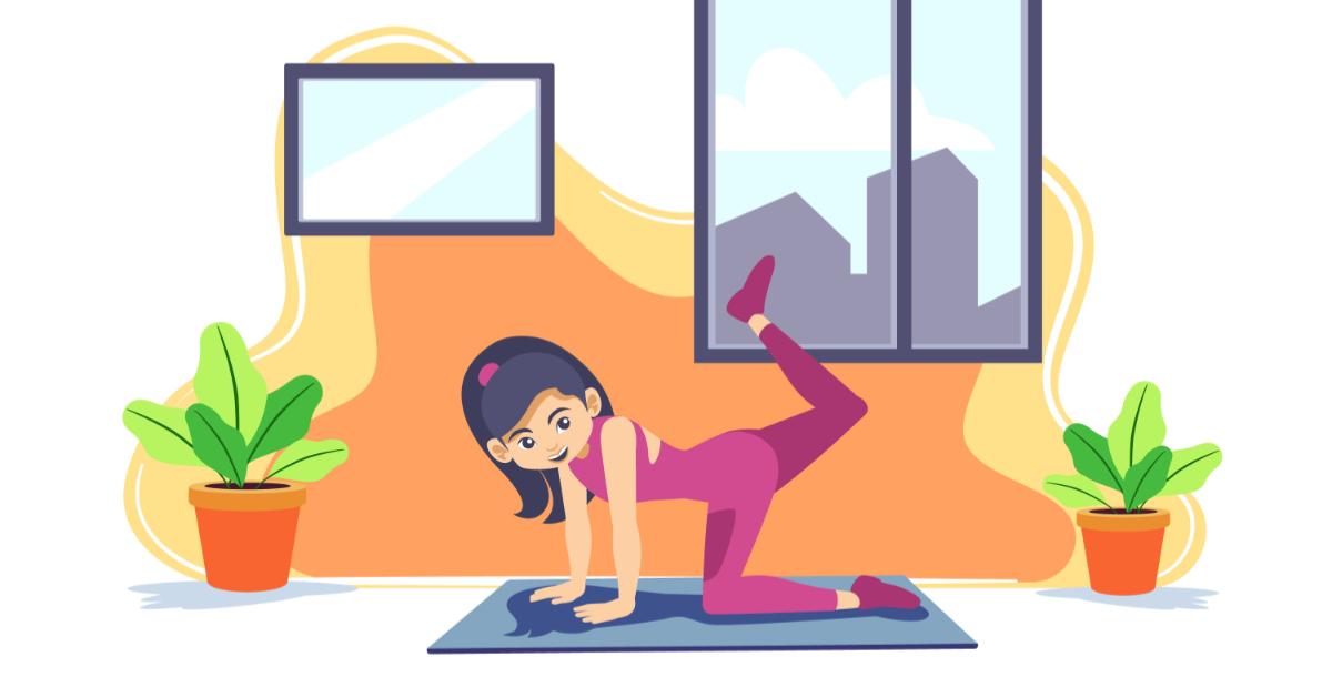 Practica ejercicios en casa según consejos de la OMS