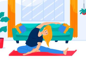 Consejos de la OMS para realizar ejercicios en casa