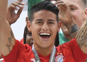 James Rodríguez dejó buenas sensaciones en el Bayern