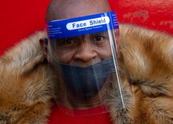 Coronavirus en Nueva York máscaras protectoras